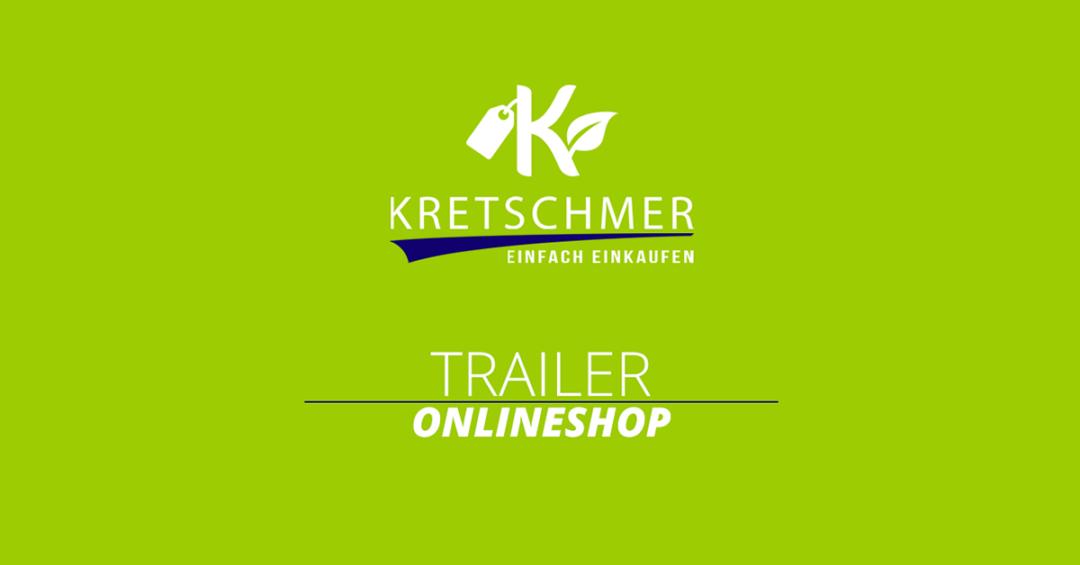 Bild Trailer Onlineshop KRETSCHMER | einfach einkaufen